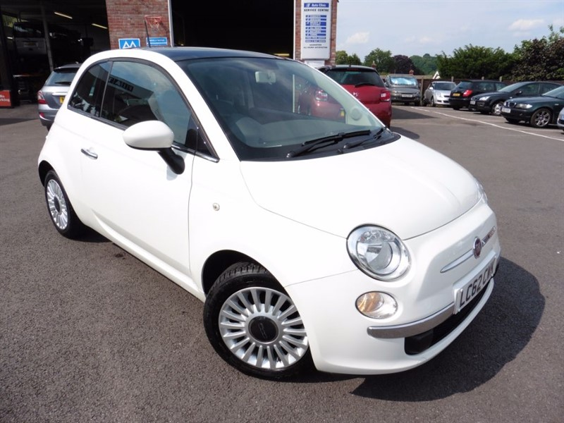 used Fiat 500 LOUNGE DUALOGIC in chepstow-wyvern
