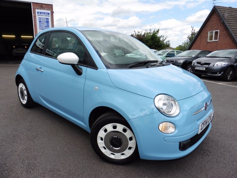 used Fiat 500 COLOUR THERAPY in chepstow-wyvern