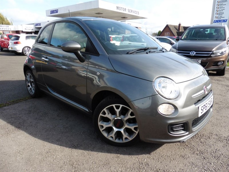 used Fiat 500 TWINAIR S DUALOGIC in chepstow-wyvern