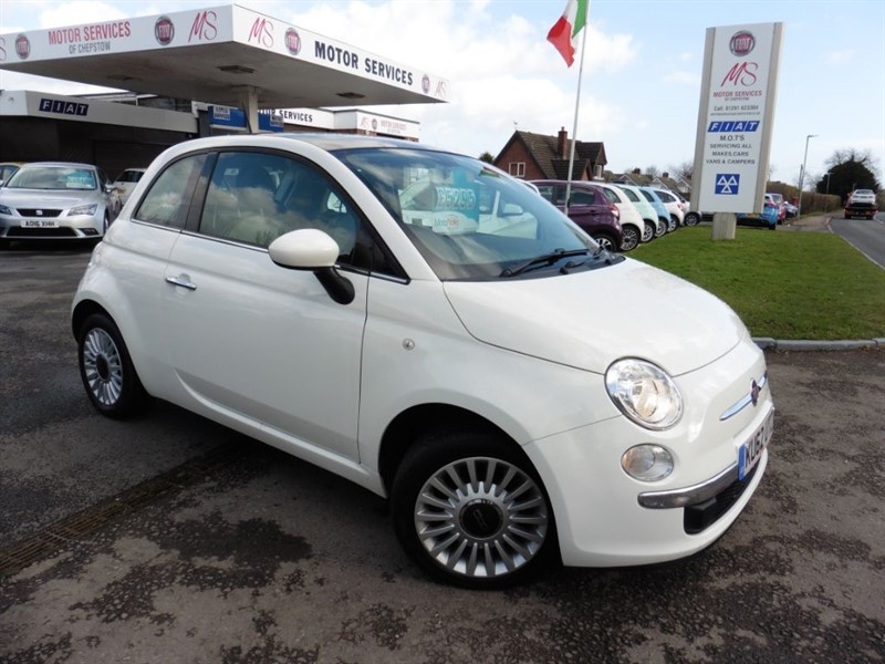 used Fiat 500 LOUNGE in chepstow-wyvern