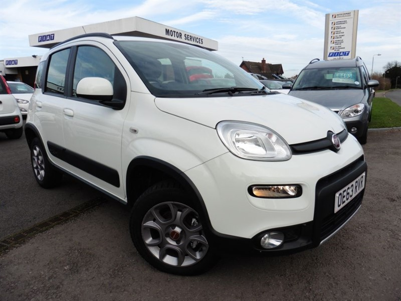 used Fiat Panda MULTIJET 4x4 in chepstow-wyvern