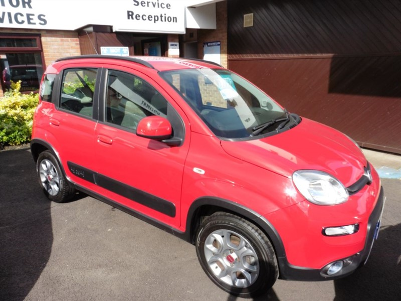 used Fiat Panda TWINAIR in chepstow-wyvern