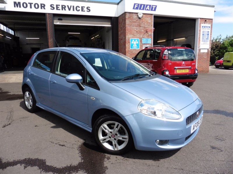 used Fiat Grande Punto DYNAMIC SPORT in chepstow-wyvern