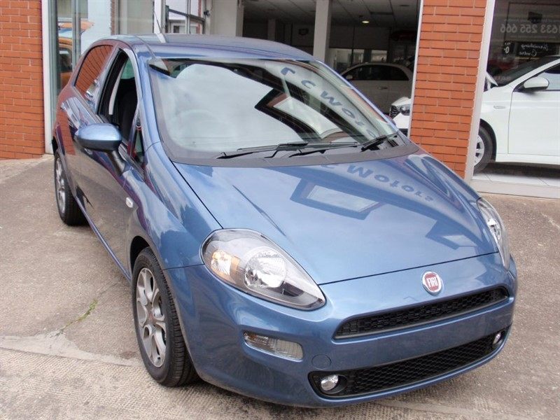 used Fiat Punto 1.4 easy plu in chepstow-wyvern
