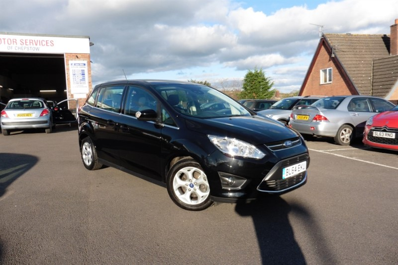 used Ford C-Max GRAND ZETEC TDCI in chepstow-wyvern