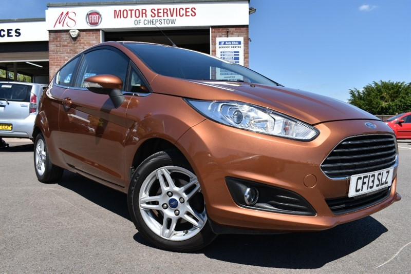 used Ford Fiesta ZETEC in chepstow-wyvern