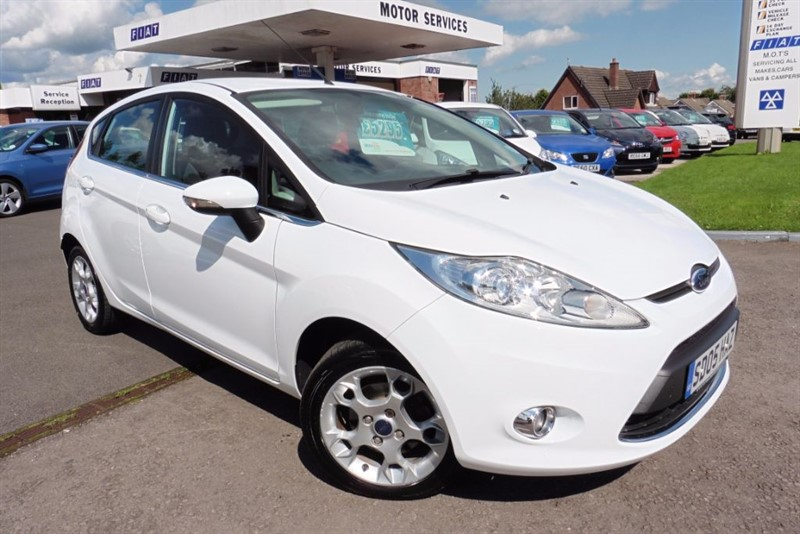 used Ford Fiesta ZETEC TDCI in chepstow-wyvern