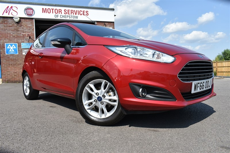 used Ford Fiesta ZETEC in chepstow