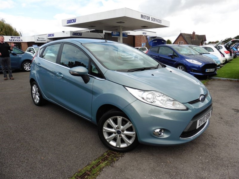 used Ford Fiesta ZETEC 16V in chepstow-wyvern