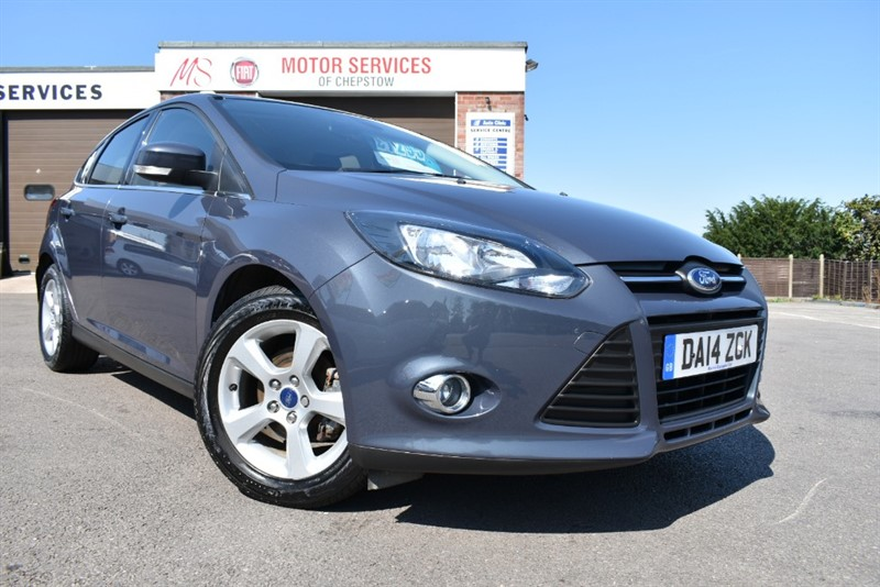 used Ford Focus ZETEC NAVIGATOR in chepstow-wyvern