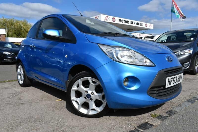 used Ford KA TITANIUM in chepstow-wyvern