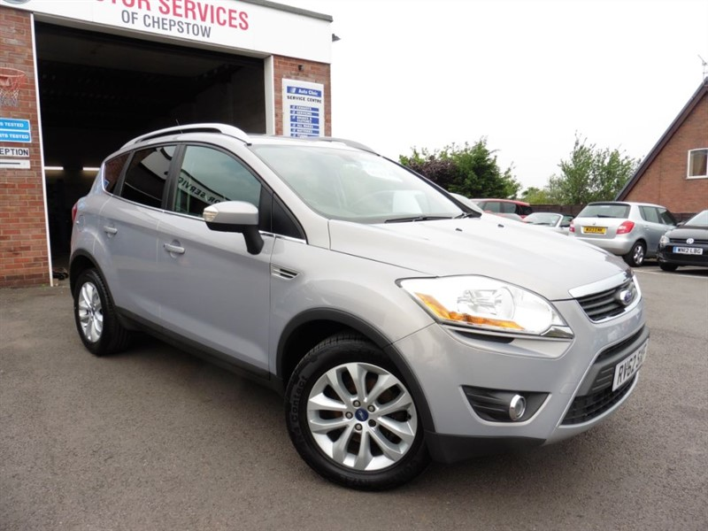 used Ford Kuga TITANIUM TDCI AWD in chepstow-wyvern