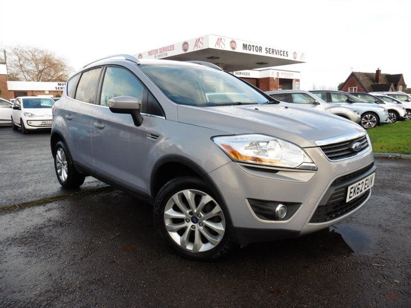 used Ford Kuga TITANIUM TDCI in chepstow-wyvern