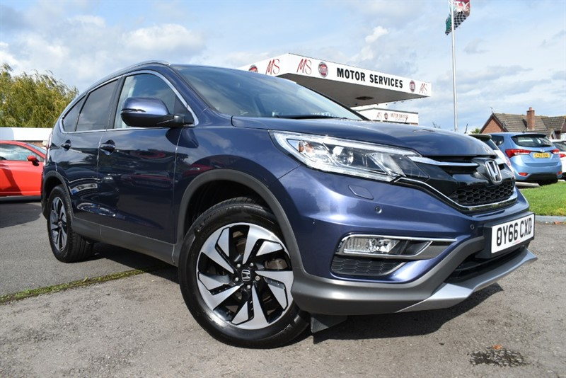 used Honda CR-V I-VTEC SR in chepstow-wyvern