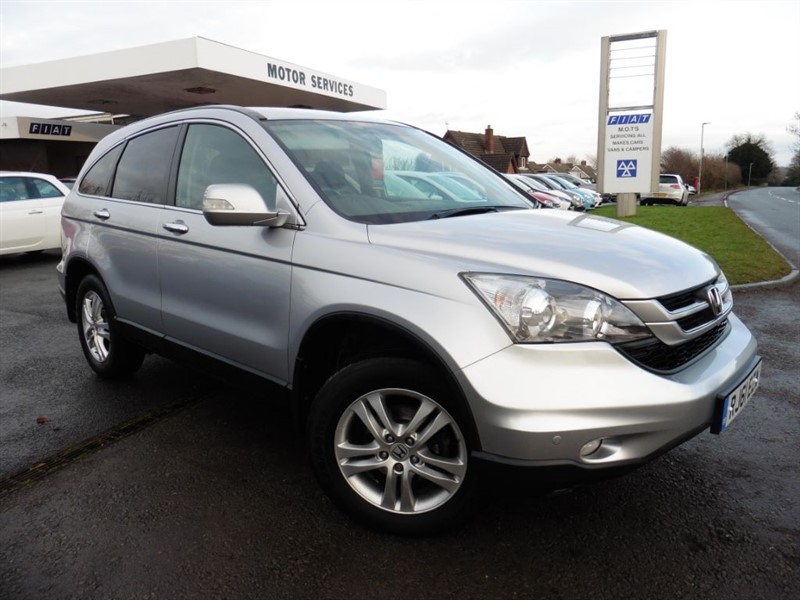 used Honda CR-V I-DTEC SE PLUS in chepstow-wyvern