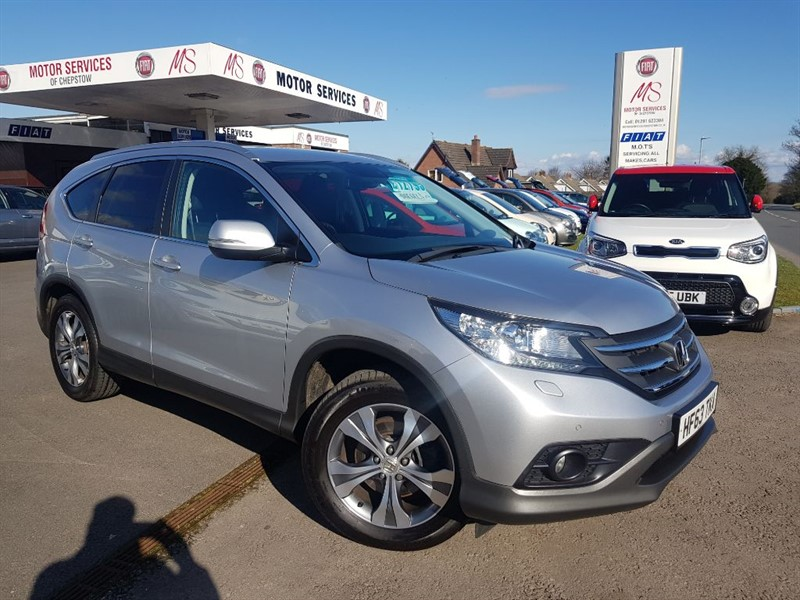 used Honda CR-V I-DTEC SR in chepstow-wyvern