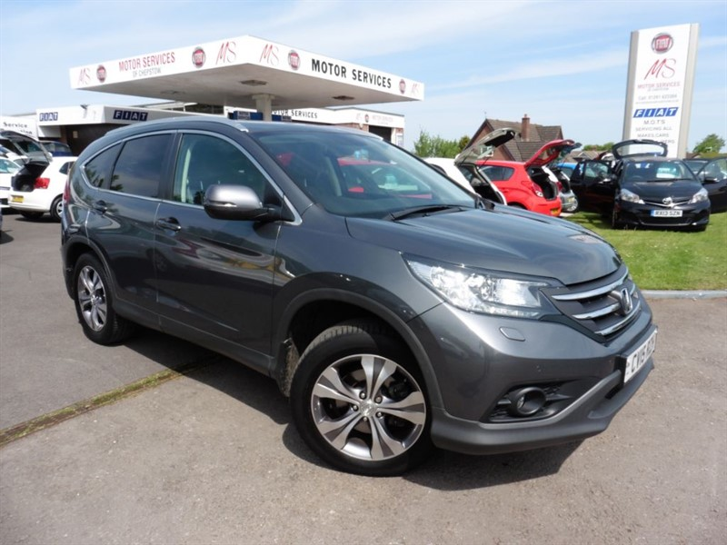 used Honda CR-V I-DTEC EX in chepstow-wyvern