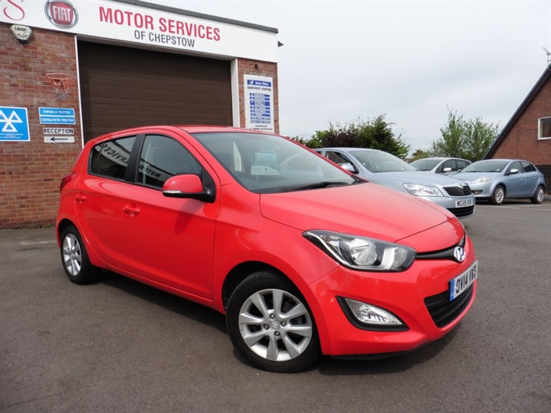 used Hyundai i20 ACTIVE in chepstow-wyvern