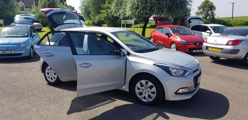 used Hyundai i20 MPI S AIR BLUE DRIVE in chepstow-wyvern