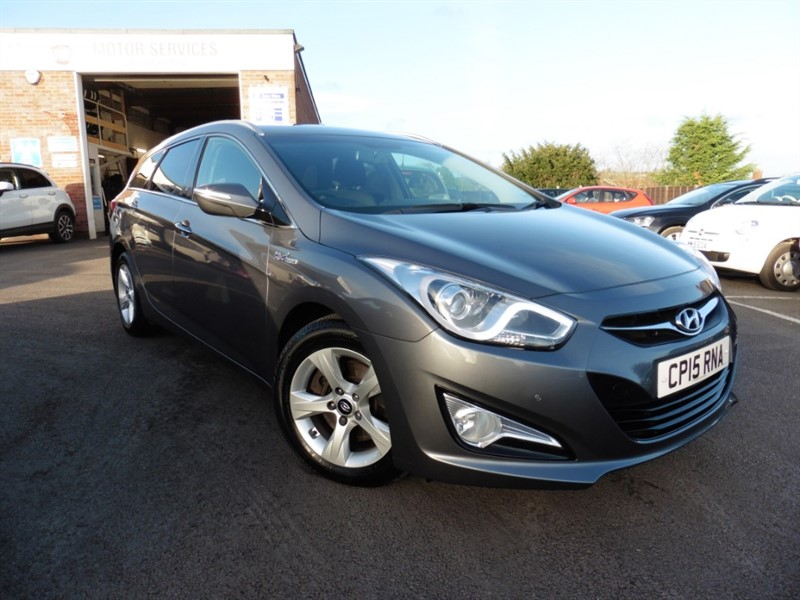 used Hyundai i40 CRDI STYLE BLUE DRIVE in chepstow-wyvern