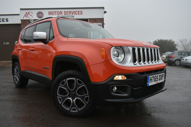 used Jeep Renegade M-JET LIMITED in chepstow-wyvern
