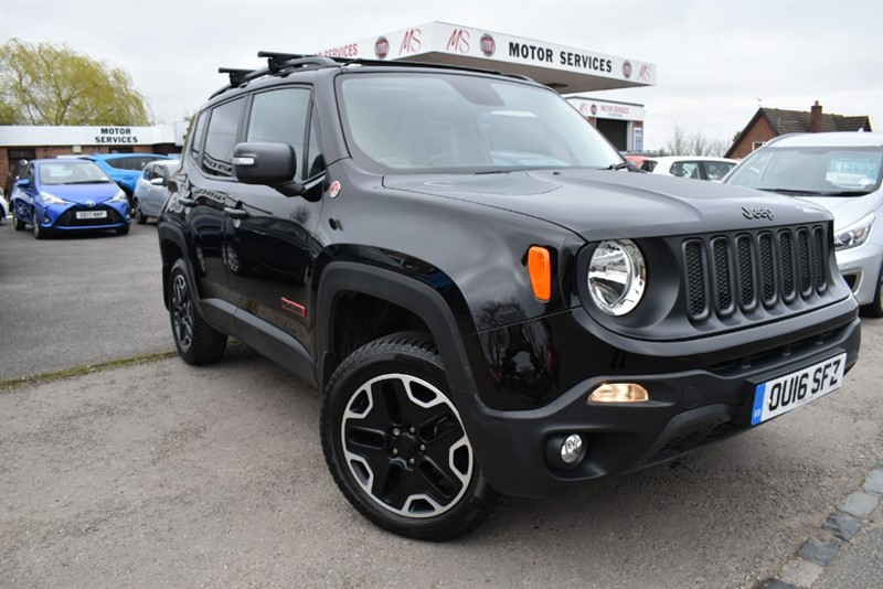 used Jeep Renegade M-JET TRAILHAWK in chepstow-wyvern