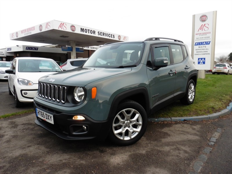 used Jeep Renegade LONGITUDE in chepstow-wyvern