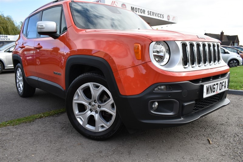 used Jeep Renegade LIMITED in chepstow