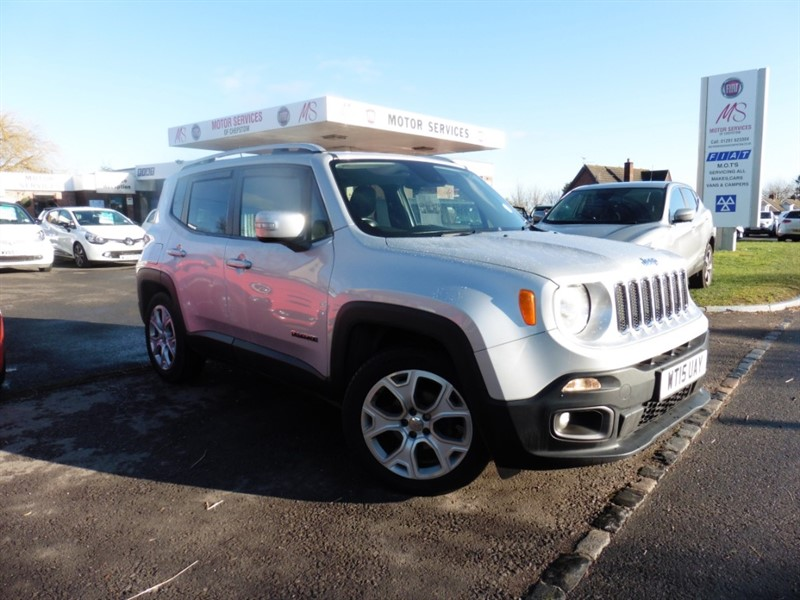 used Jeep Renegade LIMITED in chepstow-wyvern