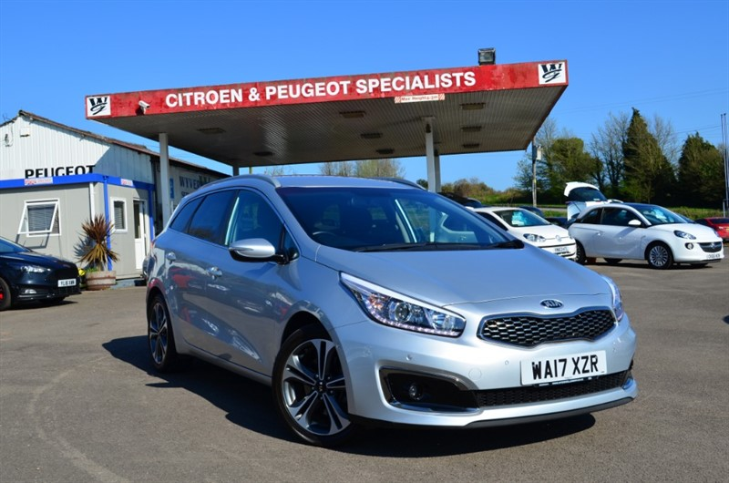 used Kia Ceed CRDI 3 ISG in chepstow-wyvern