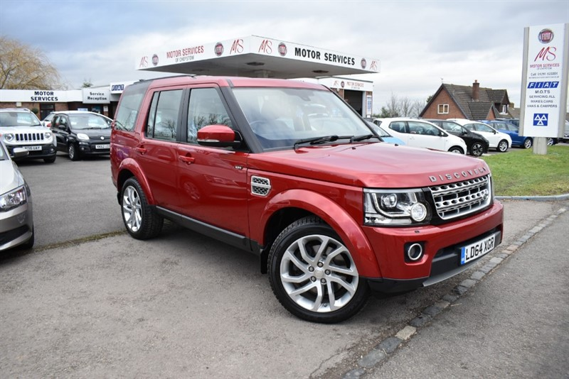 used Land Rover Discovery SDV6 HSE in chepstow-wyvern