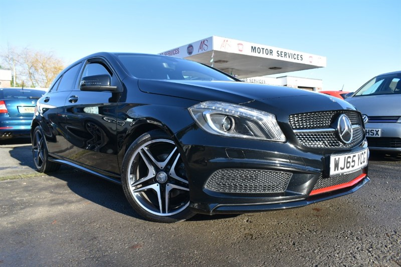 used Mercedes A200 CDI AMG NIGHT EDITION in chepstow-wyvern