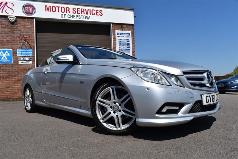 used Mercedes E350 CDI BLUEEFFICIENCY SPORT ED125 in chepstow