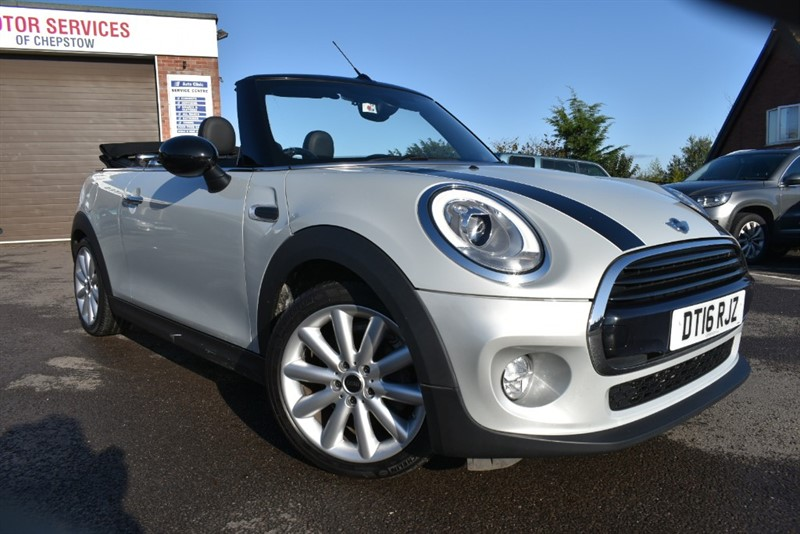 used MINI Cooper Auto Convertible 1.5 136bhp in chepstow-wyvern
