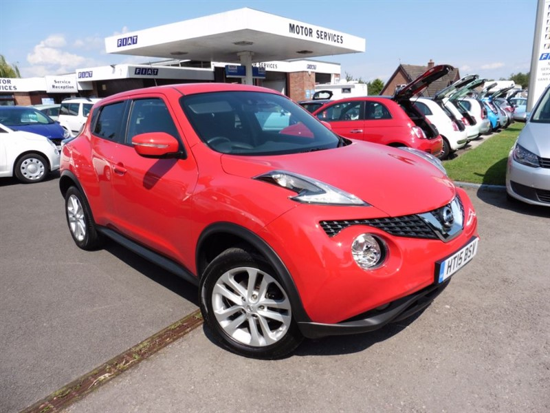 used Nissan Juke ACENTA PREMIUM DIG-T in chepstow-wyvern