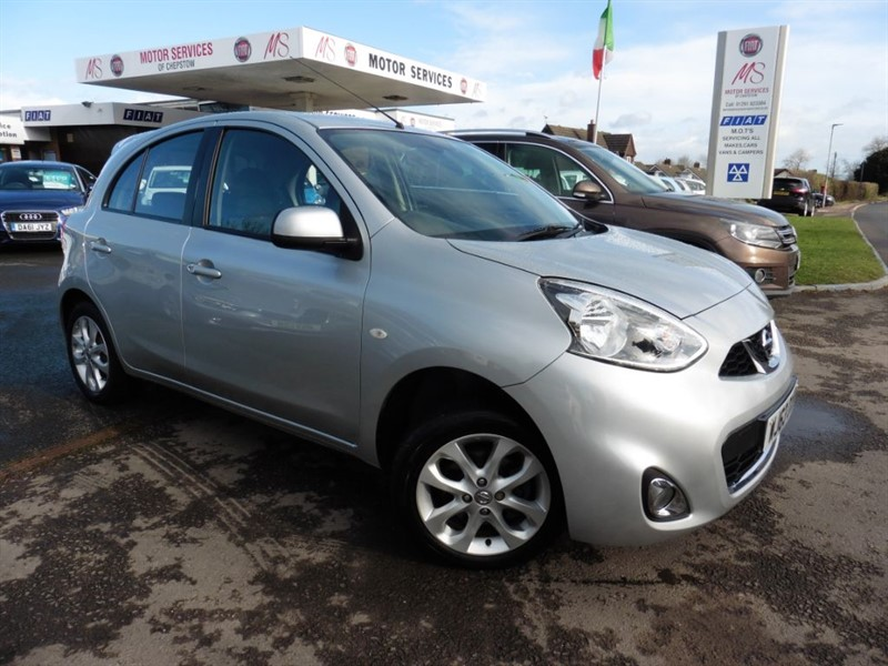 used Nissan Micra ACENTA in chepstow-wyvern
