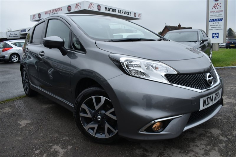 used Nissan Note TEKNA STYLE DIG-S in chepstow-wyvern