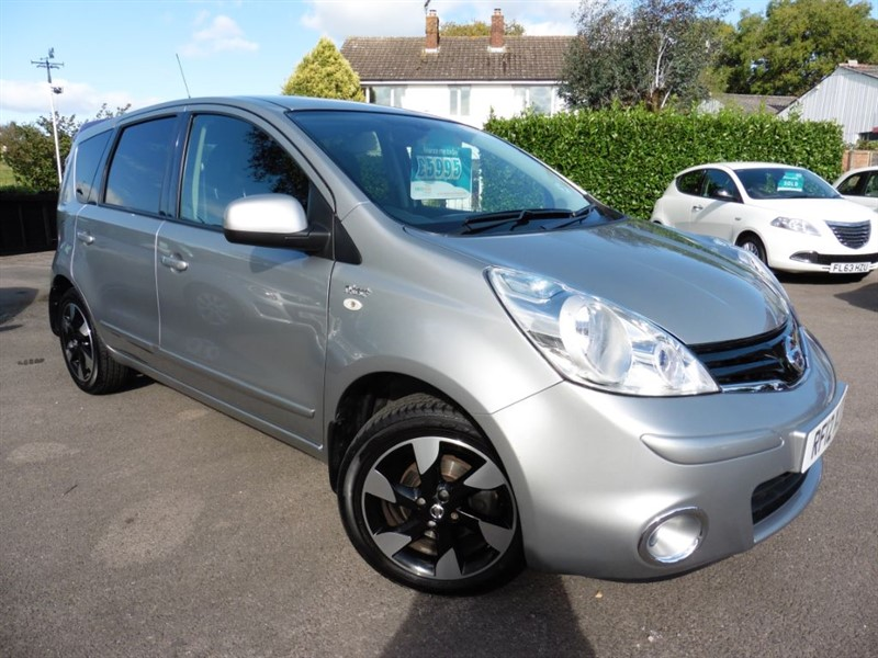 used Nissan Note N-TEC PLUS in chepstow-wyvern