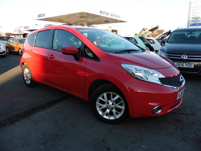 used Nissan Note ACENTA PREMIUM in chepstow-wyvern