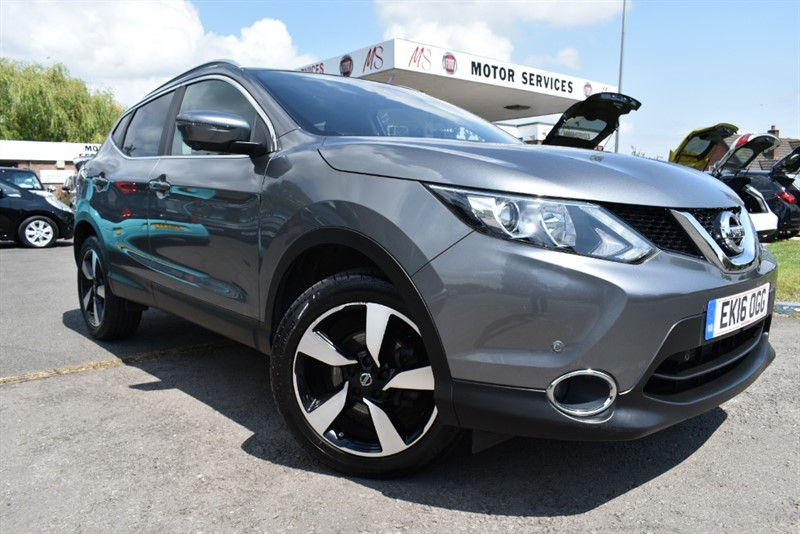 used Nissan Qashqai N-CONNECTA DIG-T XTRONIC in chepstow-wyvern