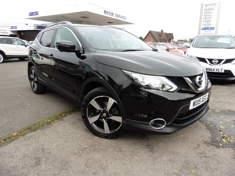 used Nissan Qashqai DCI N-TEC PLUS in chepstow-wyvern