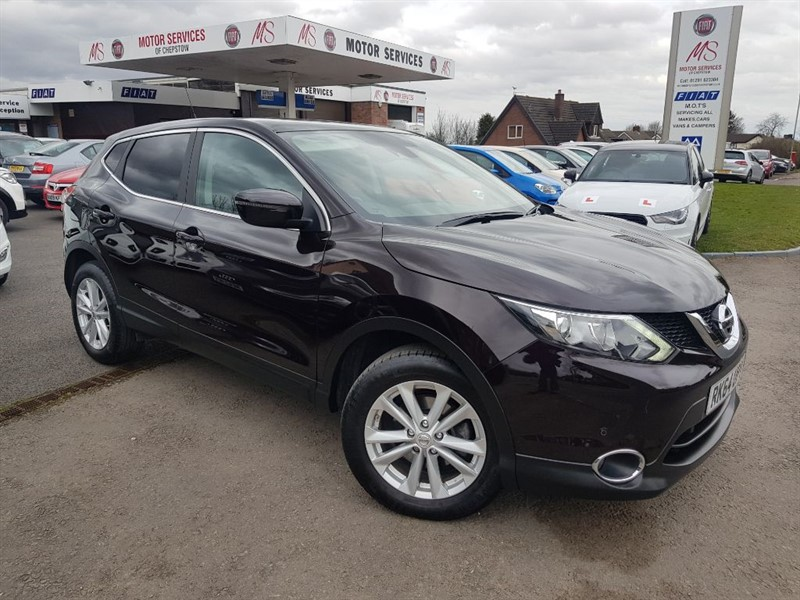 used Nissan Qashqai DCI ACENTA PREMIUM in chepstow-wyvern