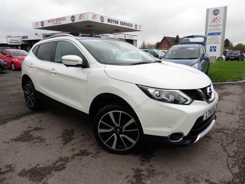 used Nissan Qashqai DCI TEKNA in chepstow-wyvern