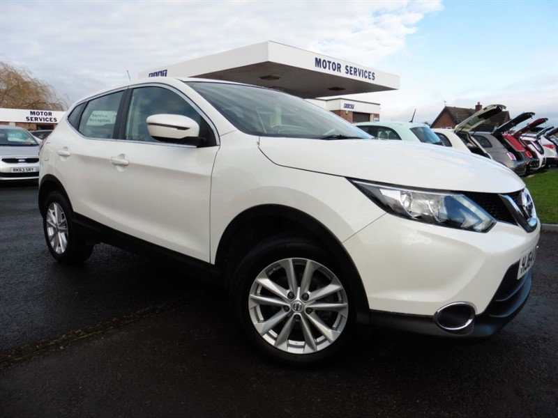 used Nissan Qashqai ACENTA DIG-T in chepstow-wyvern