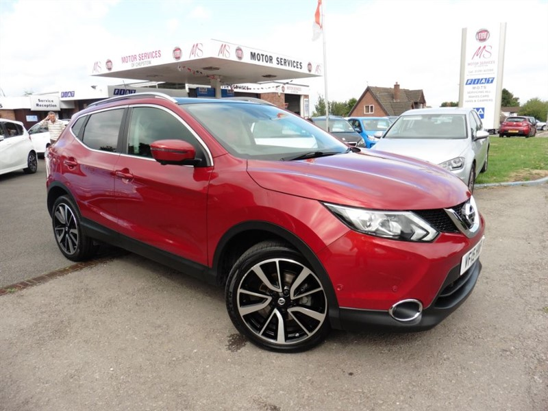 used Nissan Qashqai TEKNA DIG-T in chepstow-wyvern