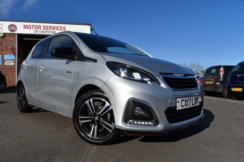 used Peugeot 108 GT LINE in chepstow-wyvern