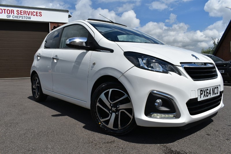 used Peugeot 108 ALLURE TOP in chepstow-wyvern