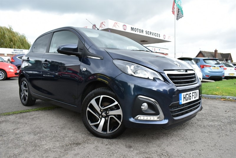used Peugeot 108 ALLURE in chepstow-wyvern