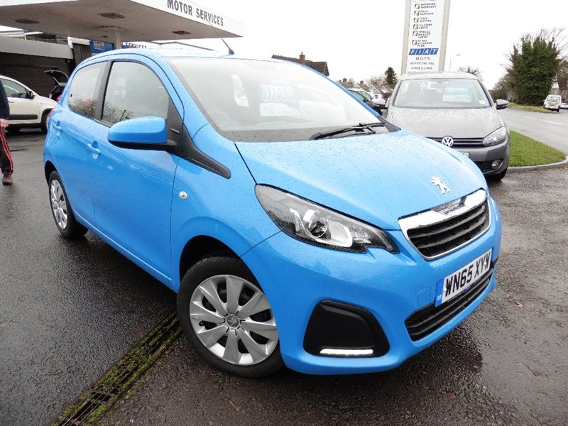 used Peugeot 108 Active 5dr in chepstow-wyvern