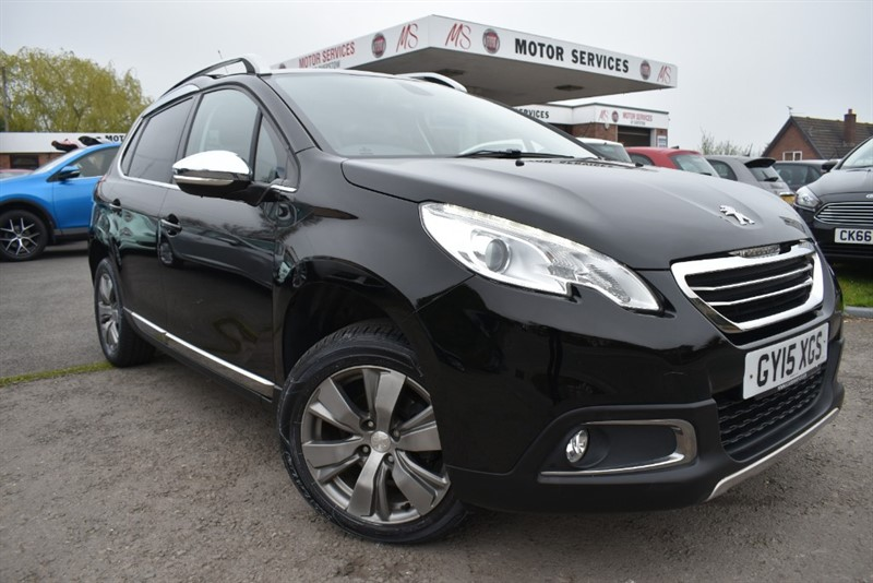 used Peugeot 2008 E-HDI ALLURE in chepstow-wyvern